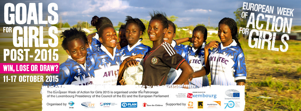 European Week of Action for Girls 2015