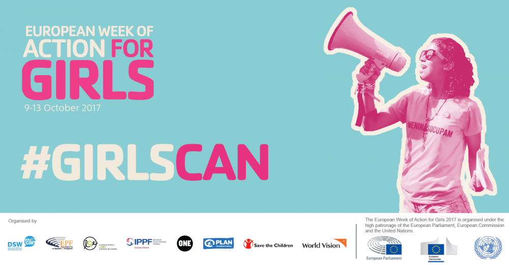 European Week of Action for Girls 2017